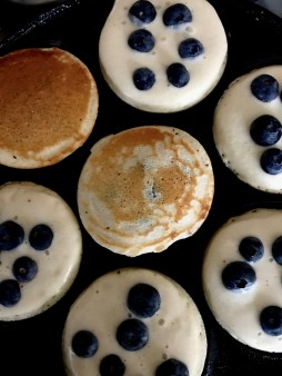 pancakes Blue